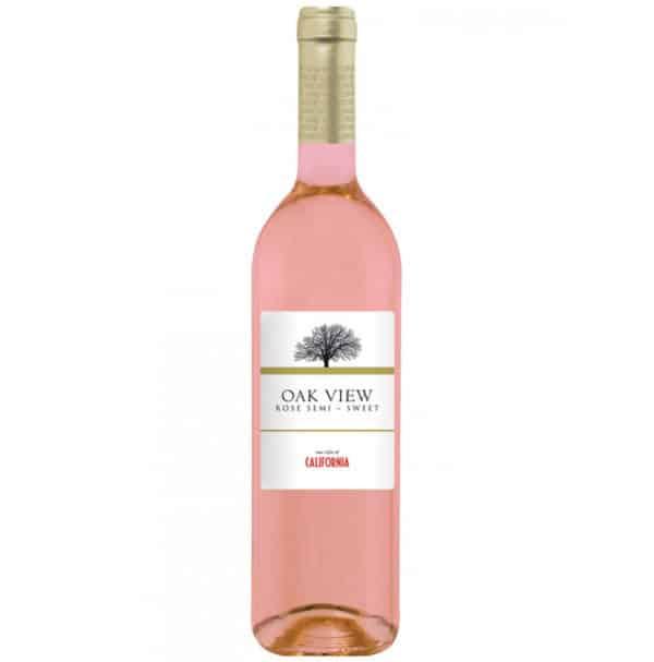 Oak View różowe półsłodkie
